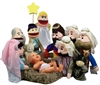 Puppet Partners Nativity Puppet Set