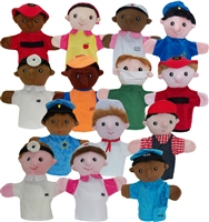 Get Ready Kids multicultural community helper career puppets
