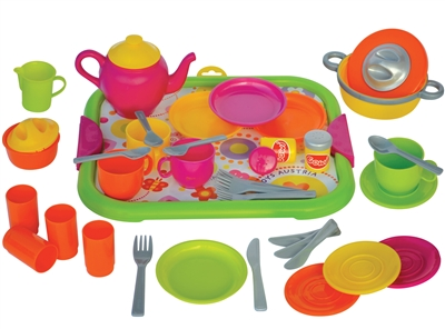 Gowi Toys dinner service set
