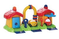 Gowi Toys race car playset