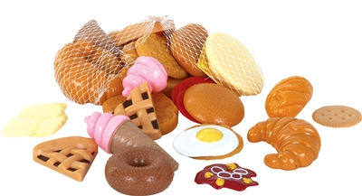 Gowi Toys bread and desert play food