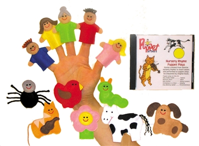 Get Ready Kids finger puppets