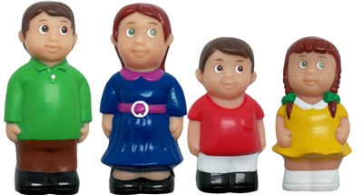 Get Ready Kids 5 inch Caucasian family figures