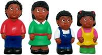 Get Ready Kids 5 inch African American family figures