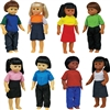 Get Ready Kids multicultural toddler dolls
