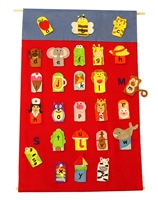 Get Ready Kids ABC finger puppets