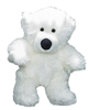 stuffable polar teddy bear