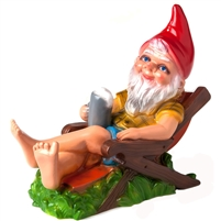 Rakso Germany Beer Garden Gnome