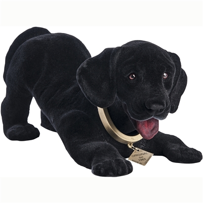 bobble head black lab