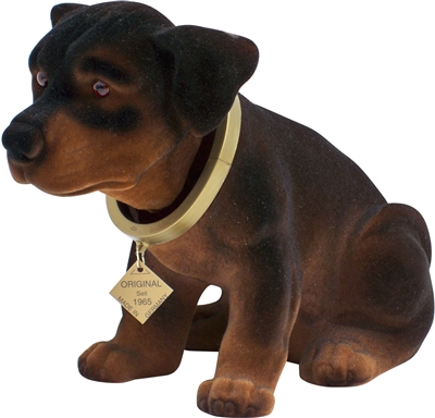 bobble head rottweiler