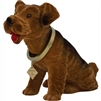 bobble head Airedale terrier