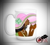 Sorority Girl Flop Hat Mug