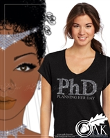 PhD (Planning Her Day) TShirt