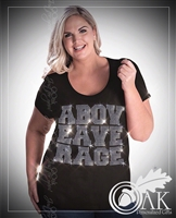 Curvy Above Average - Rhinestone T-Shirt