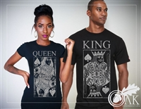 King & Queen TShirts (Set of 2)