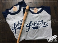 Mr & Mrs Baseball Jersey (Set of 2)
