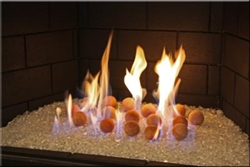 Small Terracotta Fire balls
