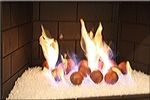 Red Terracotta Fire balls
