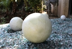 Decorative Lawn and Garden Art Balls.