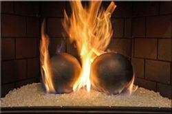 gray silver Mercury fire terracotta Fireball