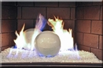 White high fire terracotta Fireball