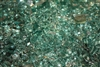 "1/4"" inch blue green fireglass"