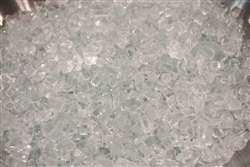 "1/4"" inch Clear White Fireglass"