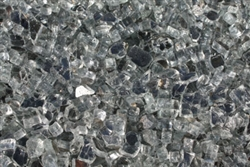 Light gray metallic gray fireglass
