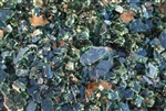 "1/4"" inch Galaxy Green fireglass"