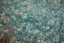 Light Blue fireglass