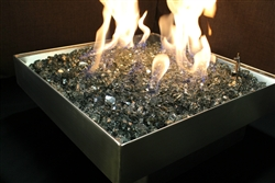 portable aluminum rv fire pit