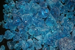 large blue fire crystals