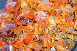 Dark Red Orange fire crystals
