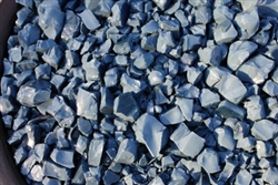 blue gray fire stones