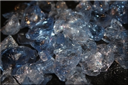 Large light blue fire crystals