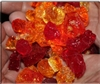 Scarlett Red and Orange fire crystals