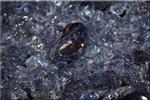 Dark Steel Blue Fire Crystal
