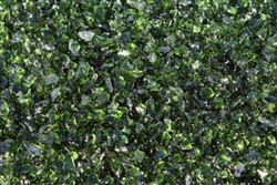 Green fire crystals