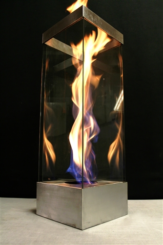 Unique decorative fire lighting for interior or exterior use ...