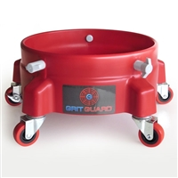 Grit Guard Bucket Dolly - Red
