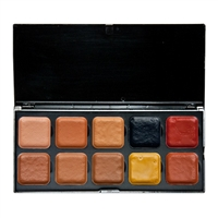 European Body Art Encore Palette - SKT Dark with Adjusters