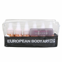 European Body Art Endura Face Off - Skin Tone Dark 6 pack