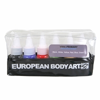 European Body Art Vibe - Primary 6 Pack