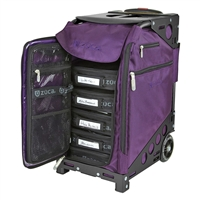 Zuca Pro Artist Royal Purple/Black Case