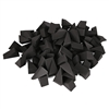 Non-Latex Wedge Sponges 100 pc bag Black