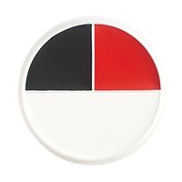 Ben Nye Red Black & White Wheel