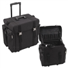 Sunrise Pro Hair Trolley Case, Black Nylon