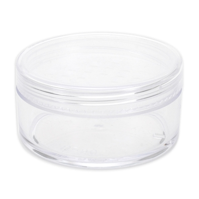 50 gram Jar with Cap and Sifter