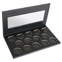 Ben Nye Empty 14 Well Pearl Sheen Window Palette