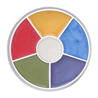 Kryolan Interferenz Wheel Bright Colors